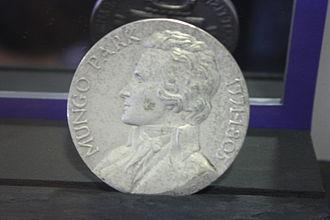 Mungo Park (explorer) - Mungo Park commemorative medal
