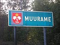 Municipality border sign of Muurame.jpg