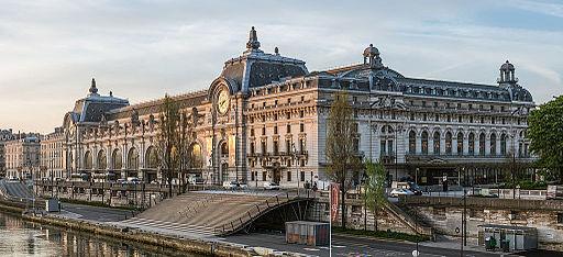 Musée d'Orsay, North-West view, Paris 7e 140402
