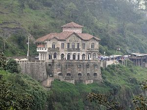 Tequendama Falls Museum - Tequendama Falls Hotel before renovations