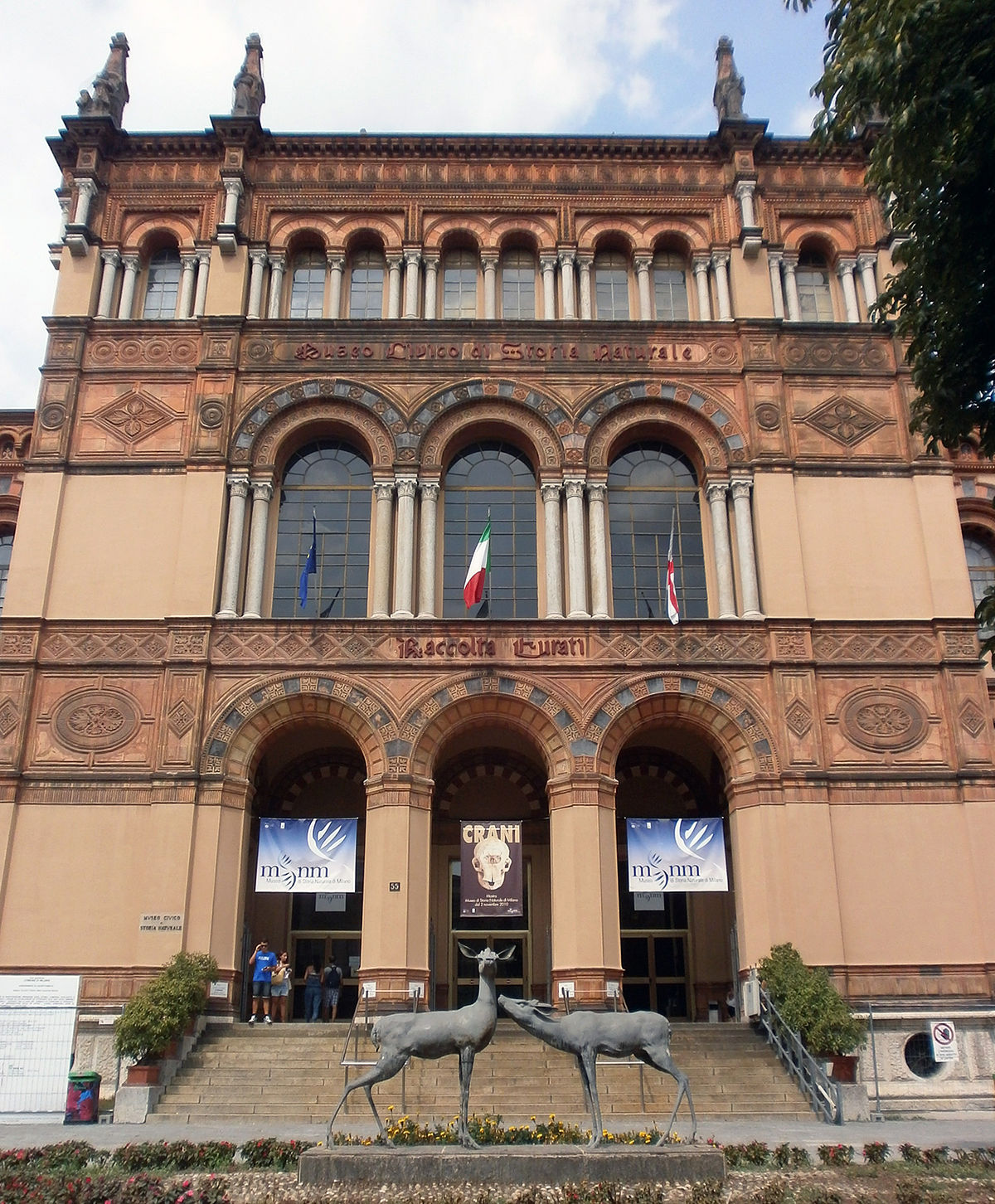 Museum Of Natural History Milan Italy