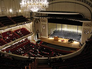 Cincinnati May Festival - Music Hall Springer Auditorium