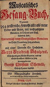 List of songs and arias by Johann Sebastian Bach - Wikipedia