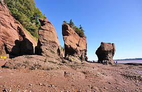 Image illustrative de l'article Parc provincial Hopewell Rocks