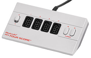 Multitap - The Four Score for the original NES.