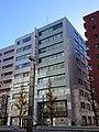 NRE Yaesudori Building, at Hatchobori, Chuo, Tokyo (2019-01-02) 01.jpg