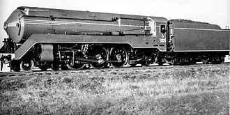 New South Wales C38 class locomotive - Streamlined 3805