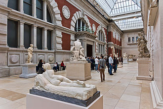 European sculpture court NYC - Metropolitan Museum - Carroll and Milton Petrie European Sculpture Court.jpg
