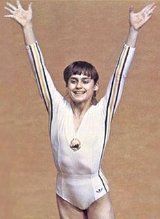 Nadia Comăneci Romanian gymnast