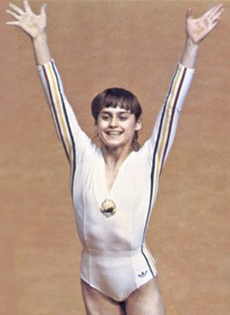 Nadia Comăneci - Nadia Comăneci at the 1976 Summer Olympics