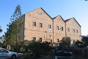 Tantura - Rothschild bottle factory, built in Tantura, 1891
