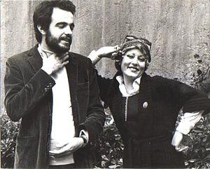 Manuel De Sica - De Sica with singer Nancy Cuomo (1974)