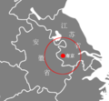 Nanjing and its neighbor cities.png