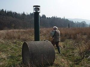 Nantmel Landfill Site - Image: Nantmel landfill gas vent