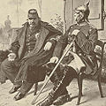 Napoleon III Otto von Bismarck (Detail).jpg