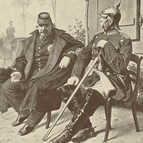 Napoleon III Otto von Bismarck (Detail)
