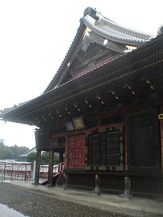 Narita-san - Image: Naritasan Shinshouji Koumyoudou side