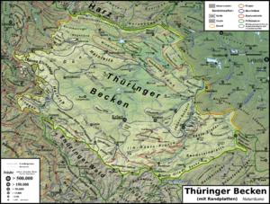 "Thuringian Basin - The Thuringian Basin (""Thüringer Becken"")"