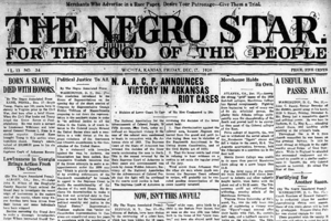 The Negro Star - Image: Negro Star front page Dec 17 1920