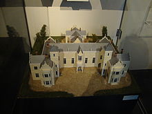 Model of the Nelson Provincial Council buildings