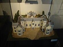 Maquette des bâtiments du Conseil provincial de Nelson