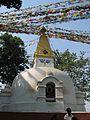 Nepal - Kathmandu - 006 - Stupa at Swayambunath (Monkey) Temple (492186344).jpg