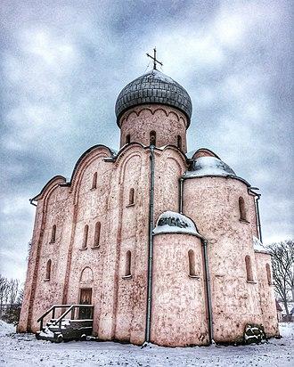 Nereditsa Church - Spas-na-Nereditse Church in 2016