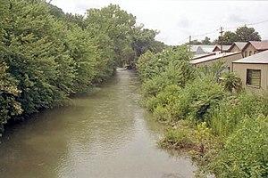 New Creek - New Creek at Keyser, West Virginia in 1996