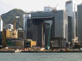 Central Government Complex (Hong Kong) - Central Government Complex Site in March, 2011