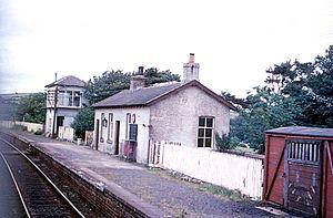 Girvan and Portpatrick Junction Railway - New Luce in 1970