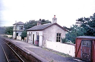 Girvan and Portpatrick Junction Railway - New Luce in 1970