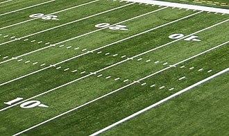 Hash marks - ...at MetLife Stadium