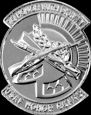 United States Air Force Honor Guard Badge - Air Force Honor Guard Badge