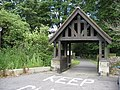 New Whittington - Lych Gate entrance to St.Bartholomew's Church - geograph.org.uk - 864991.jpg