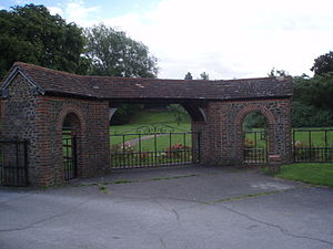 Liss - Image: Newman Collard Park Entrance