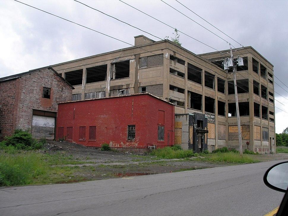 Niagara falls fallen industry