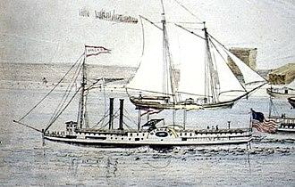Niagara (palace steamer) - Image: Niagara palace steamer 2