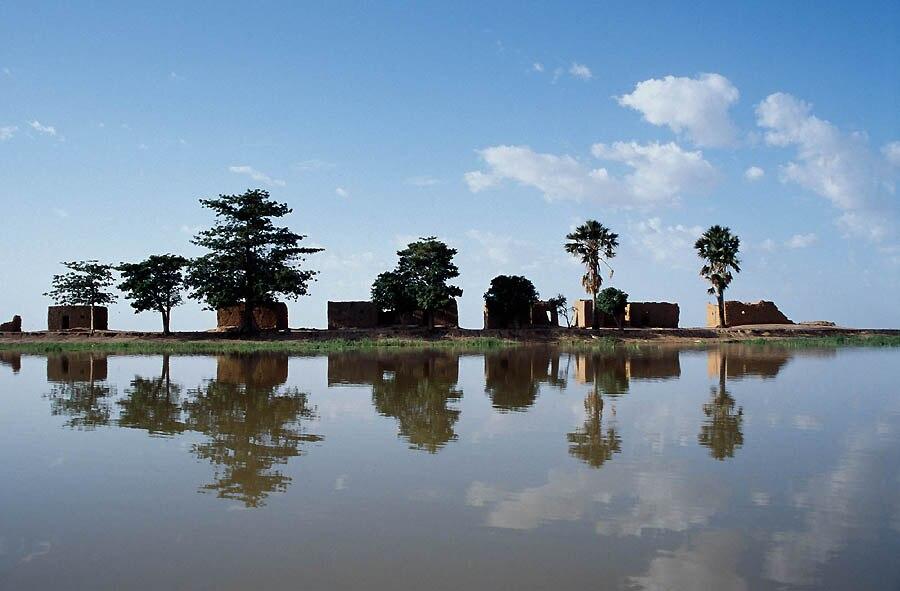 Niger River Center Island