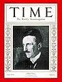 Nikola Tesla on Time Magazine 1931.jpg