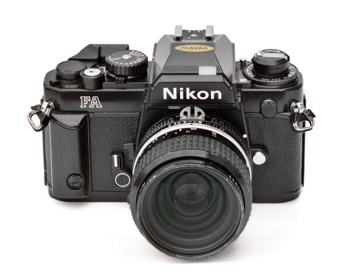 nikon fa wikipedia rh en wikipedia org Battery Nikon FA nikon fe instruction manual