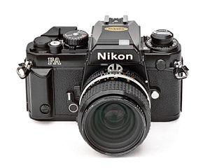 Nikon FA - Image: Nikon F Ablkfrt 35f 2