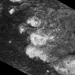 Collis (planetary nomenclature) - Image: Nimloth Colles (Cassini, T43)