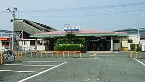 Sakuradai Station (Fukuoka) - Image: Nishitetsu Sakuradai Station 01
