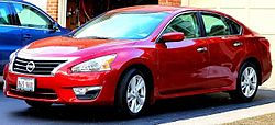 Nissan Altima Fifth generation (2013- ) Mar 2013.jpg