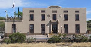 United States Post Office and Immigration Station–Nogales Main - Image: Nogales, Arizona post office from NW 1