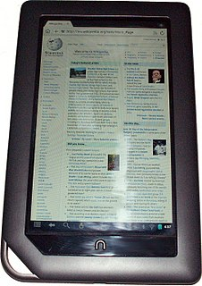 Nook Color Tablet Computer/E-Reader from Barnes & Noble