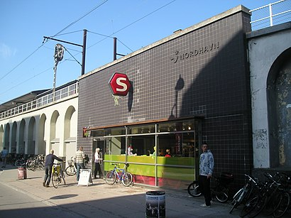 How to get to Nordhavn St. with public transit - About the place
