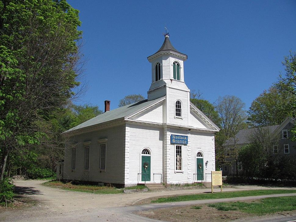 Norfolk Grange Hall, MA