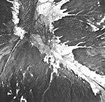 Norris Glacier, terminus of dead branch of valley glacier, September 16, 1966 (GLACIERS 6043).jpg