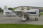 North American T-28B Trojan '138352 TP-642' (C-GSLA) (28672328878).jpg